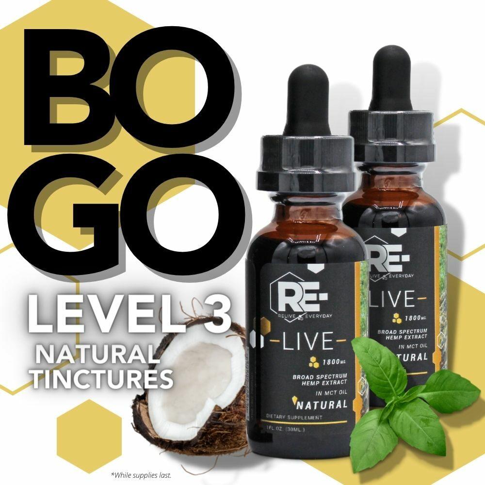 1000x1000 Natural tincture BOGO level 3