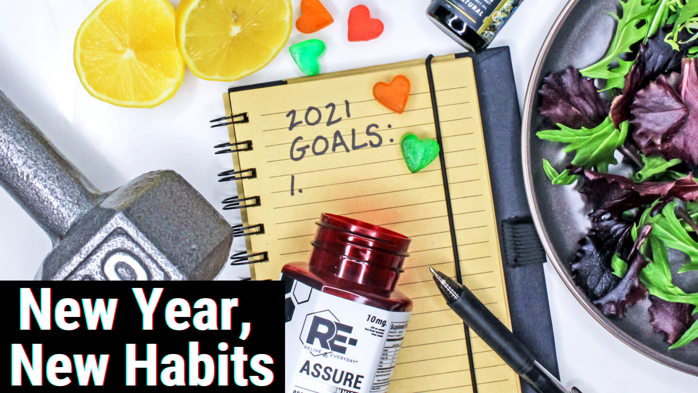 5 Healthy Habits to Make The Most of The New Year