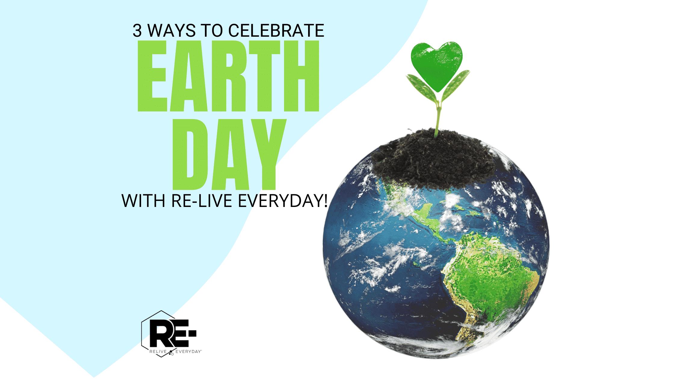 Earth Day Blog Banner