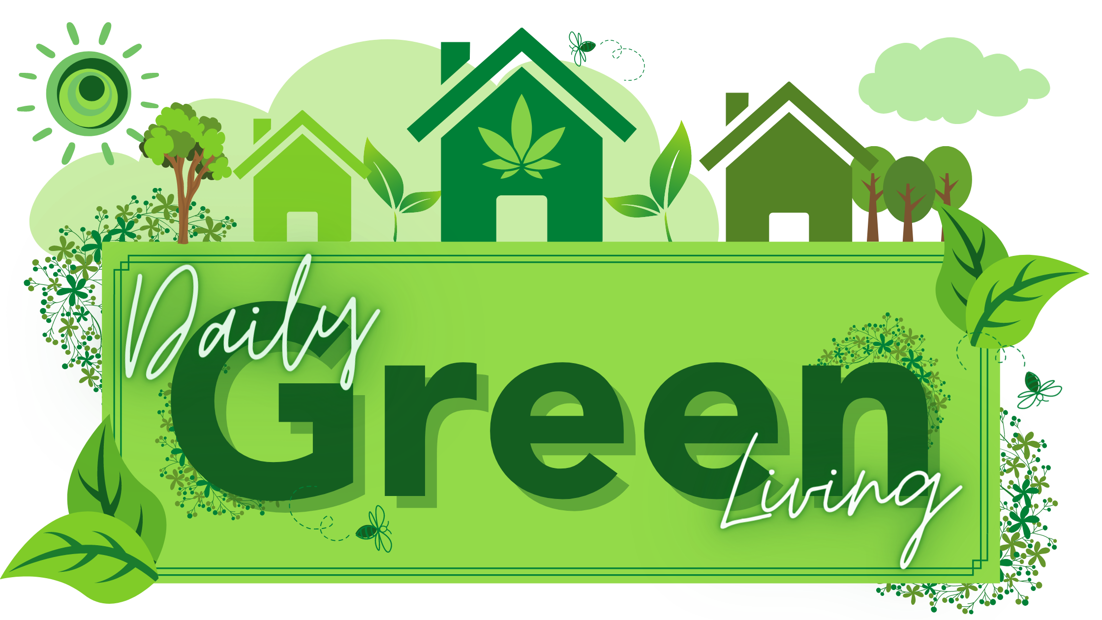 Green Living Blog Banner