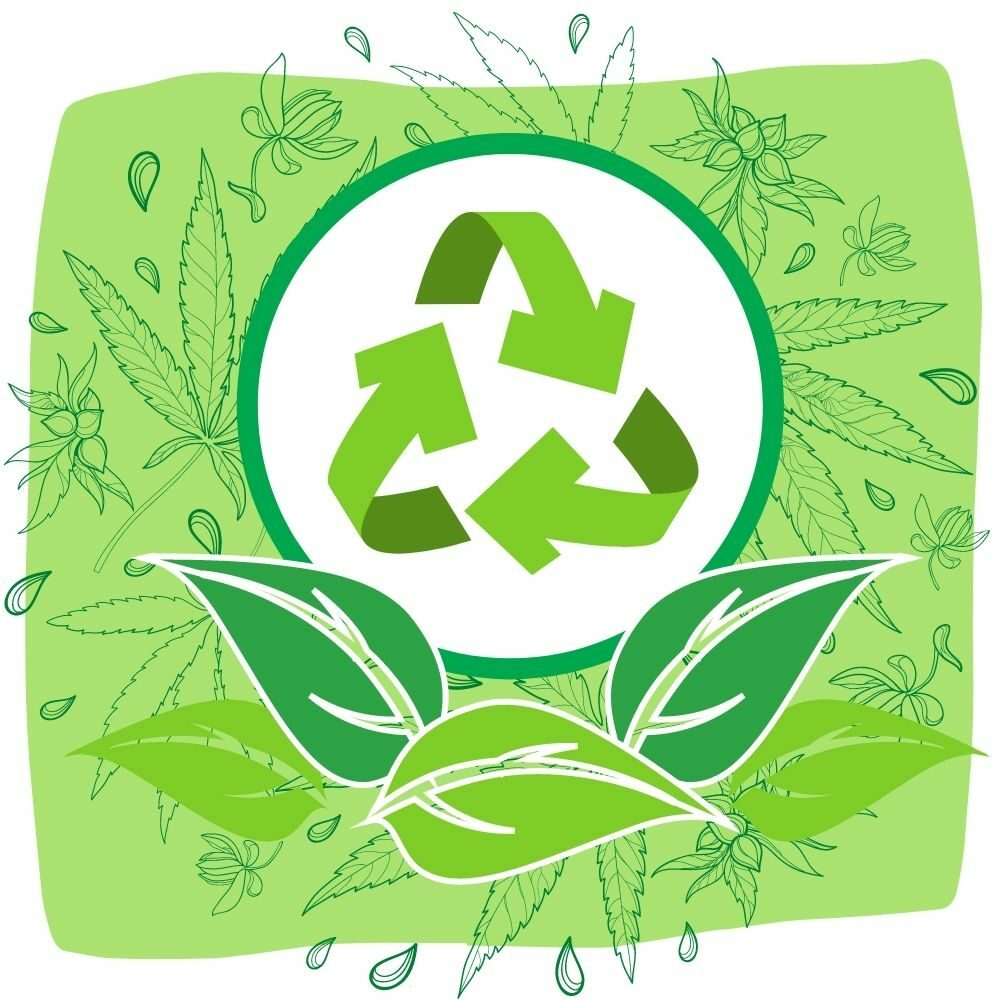 Green Living blog graphics recycle