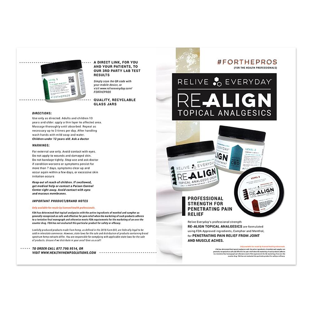 Topical Analgesic Brochure