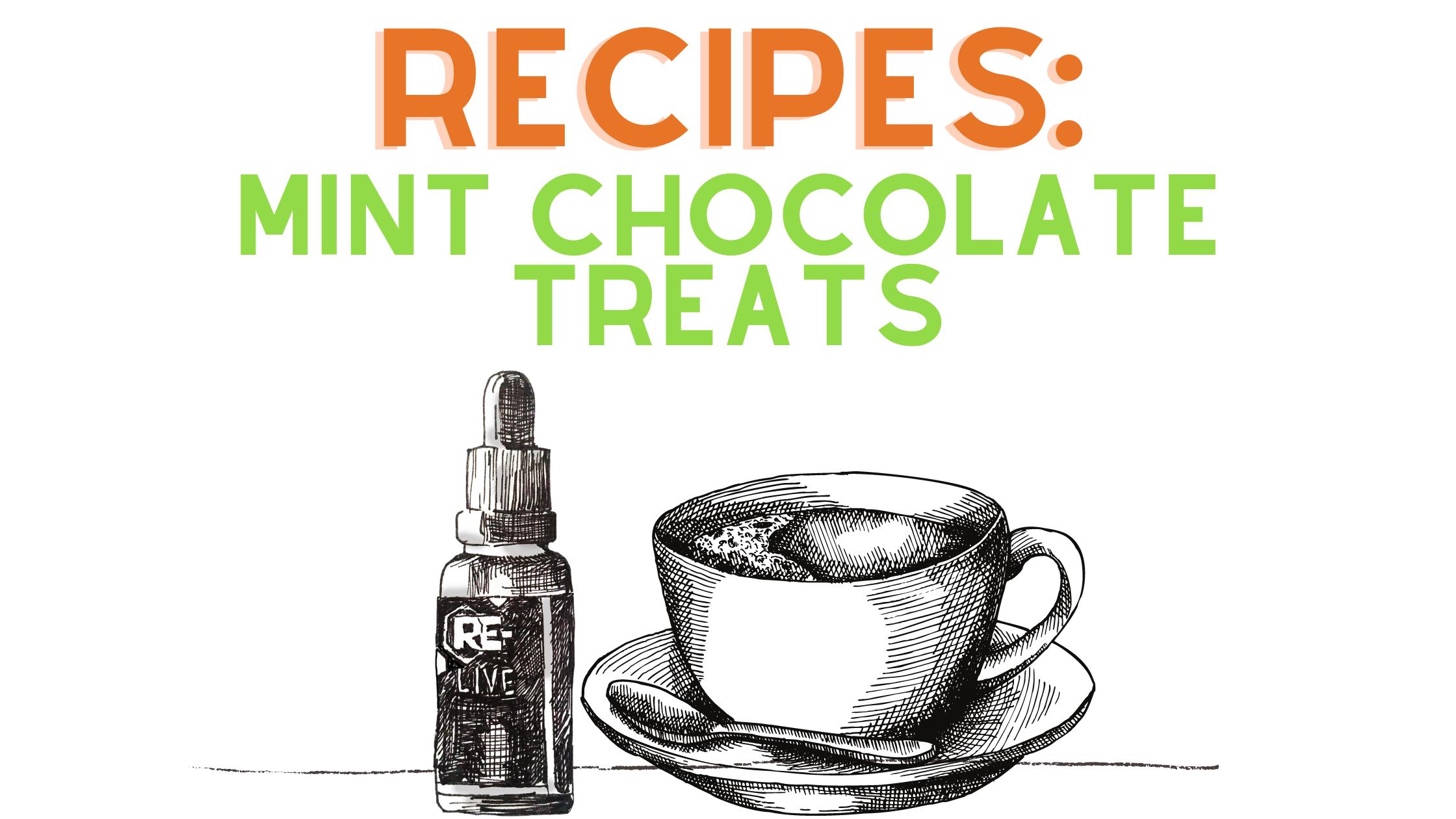 RECIPES MINT CHOCOLATE TREATS Blog Banner