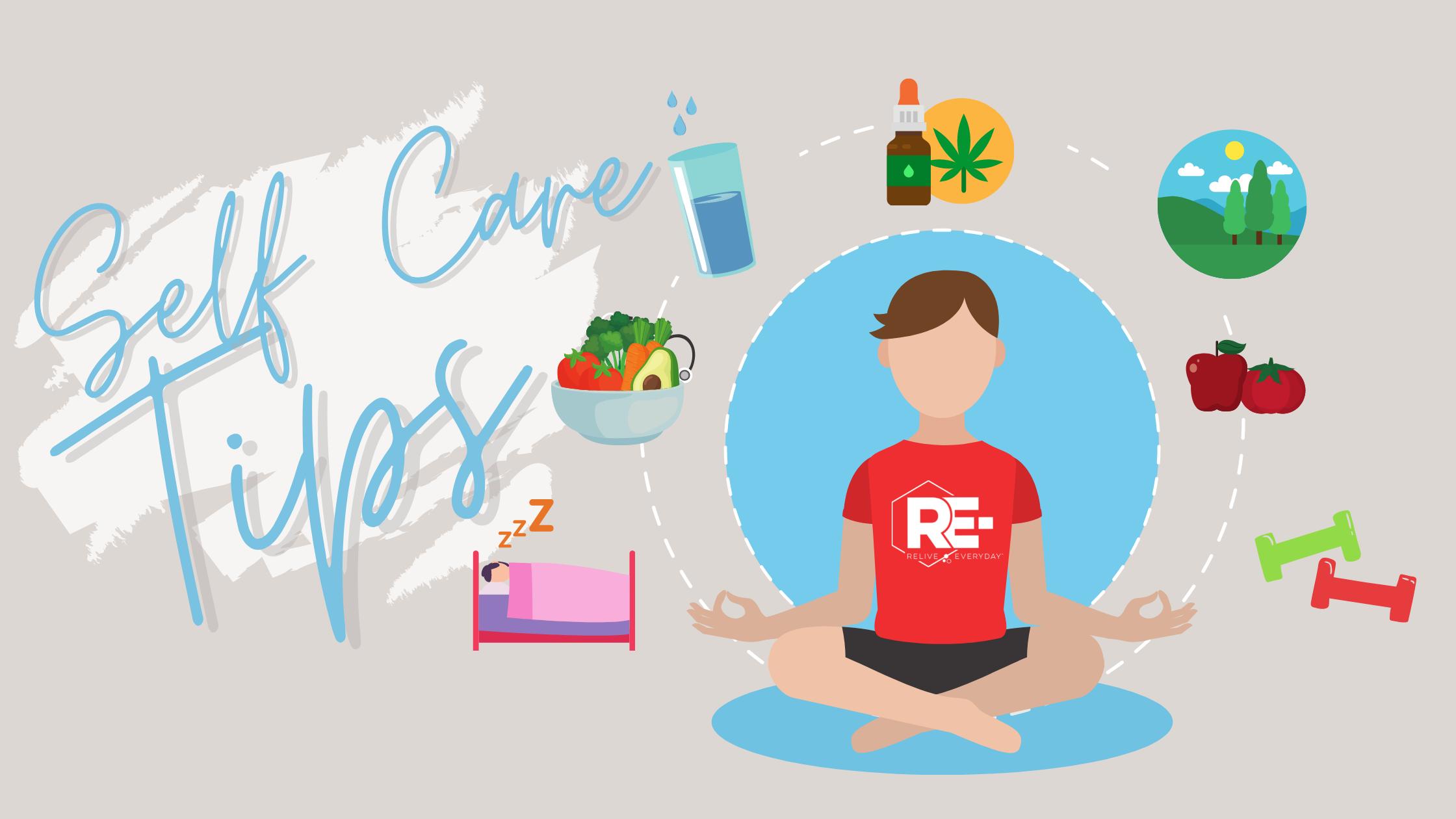 Self Care Tip Blog Banner