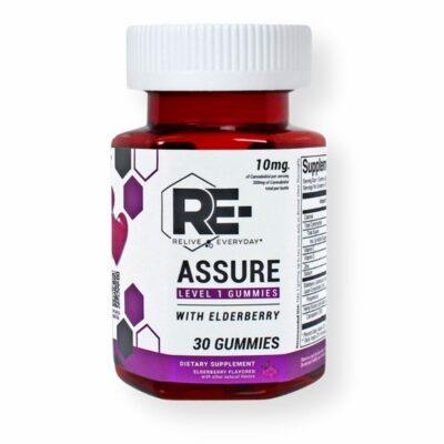 re assure cbd vegan gummies imunne support