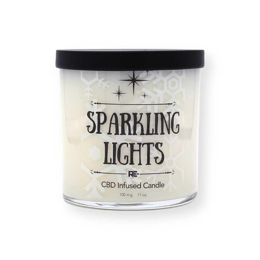 CBD Candle - Sparkling Lights