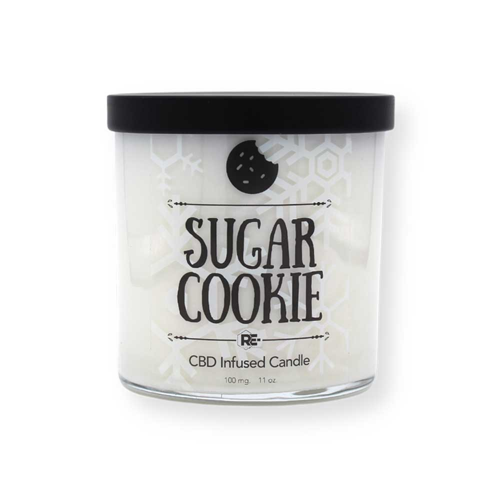 CBD Candle - Sugar Cookie