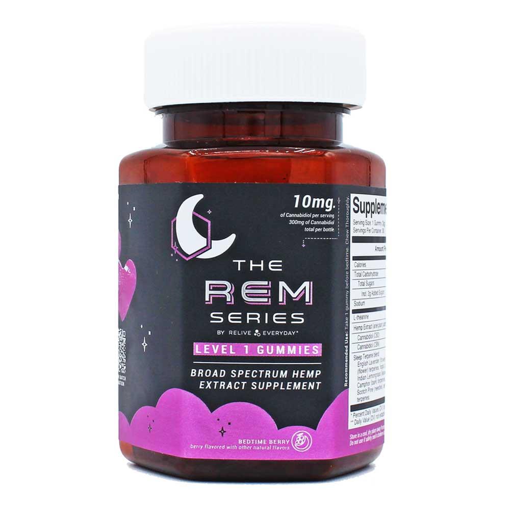 Vegan CBD Sleep Gummies: 10mg – Bedtime Berry